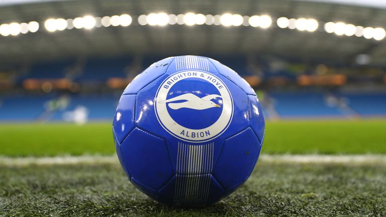 Three unnamed members of Brighton's squad underwent tests