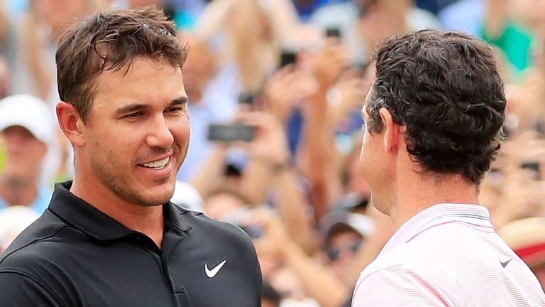 Brooks Koepka's 47-week reign will come to an end