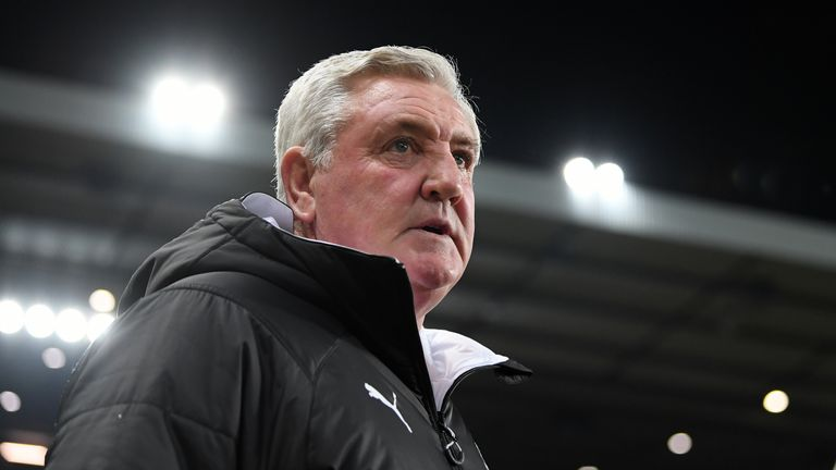 Steve Bruce left Sheffield Wednesday to manage Newcastle in July
