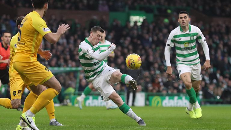Callum McGregor says Celtic have got plenty of options ahead of the Cup final