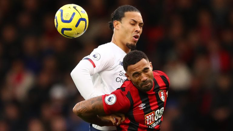 Callum Wilson was substituted with an injury in the second half