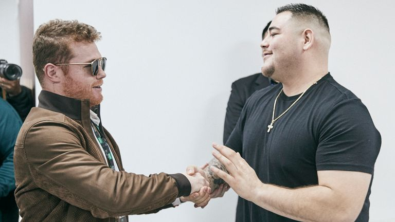 Canelo and Andy Ruiz Jr