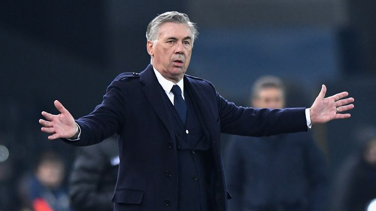 Ancelotti is one of only three managers to win three European Cups