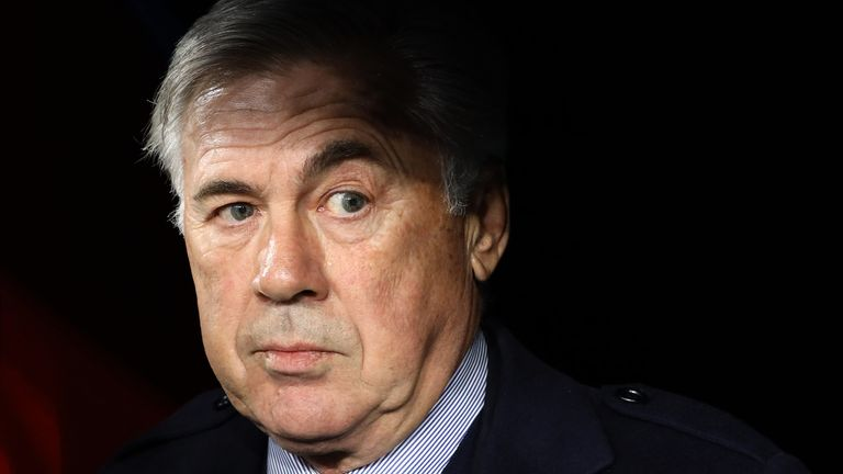 Carlo Ancelotti could be about to make a return to the Premier League