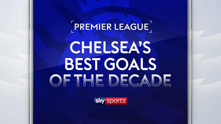 Chelsea's best goals of the decade