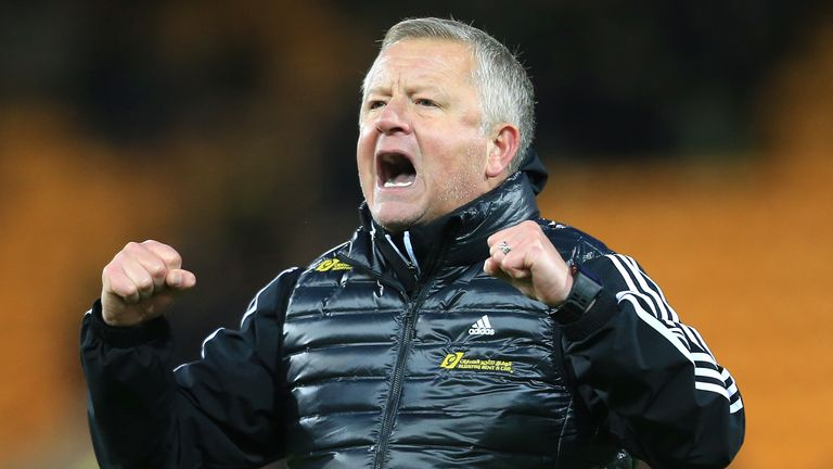 Chris Wilder Sheffield United Manager Signs New Deal Until 2024