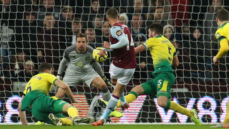 Conor Hourihane gives Villa the lead