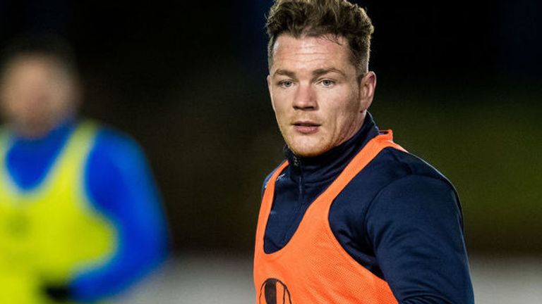 Cowdenbeath striker David Cox