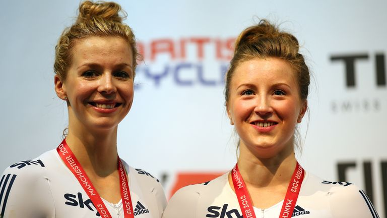 Vicky Williamson and Becky James won bronze at the track cycling world championships in 2013