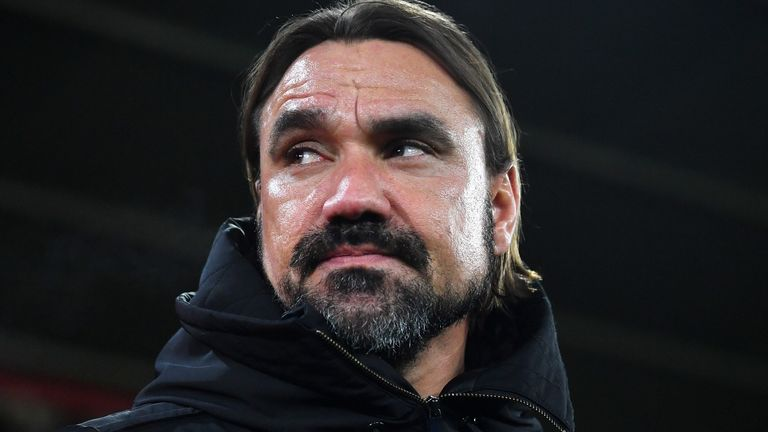 Daniel Farke says Norwich lacked bravery during their 2-1 defeat at Southampton