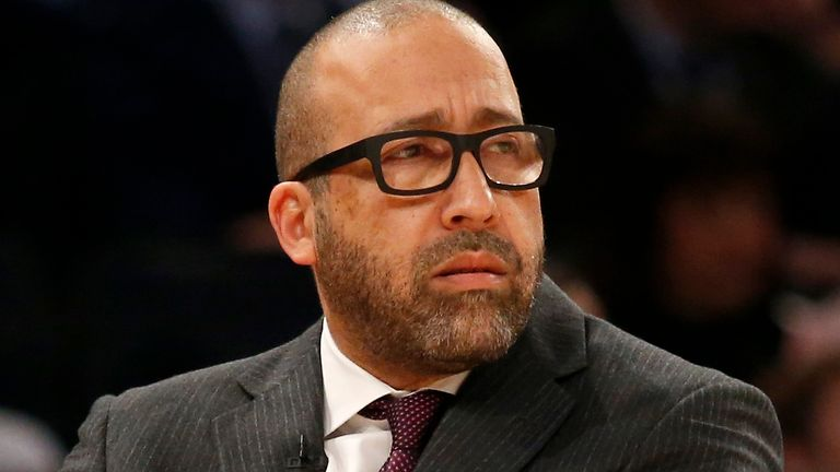 New York Knicks head coach David Fizdale