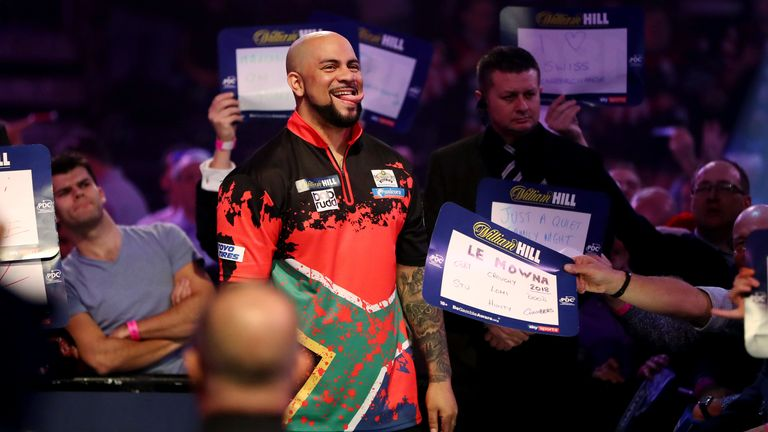 Petersen promises to be a crowd favourite with his famous dance moves at Ally Pally