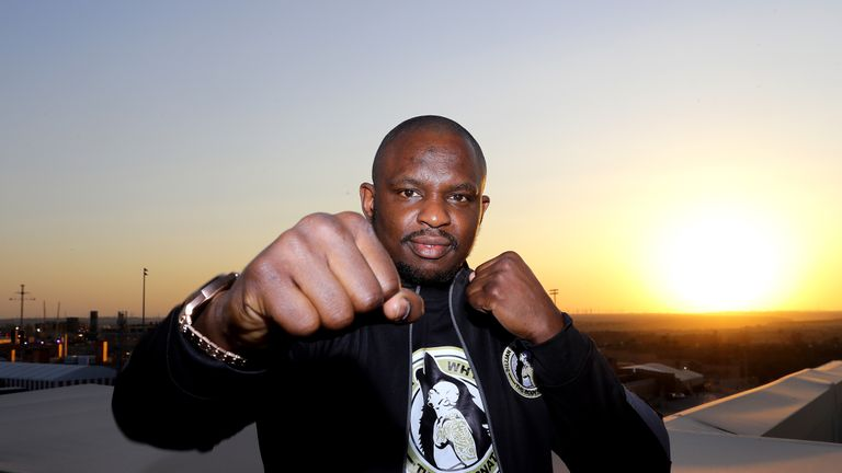 Dillian Whyte is 26-1 going into his fight with Mariusz Wach in Saudi Arabia on Saturday