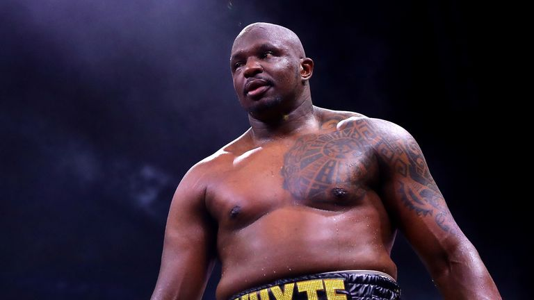Dillian Whyte returns to the ring against Mariusz Wach