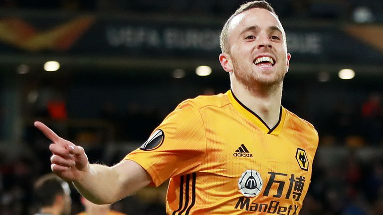 Diogo Jota scored a quickfire hat-trick against Besiktas