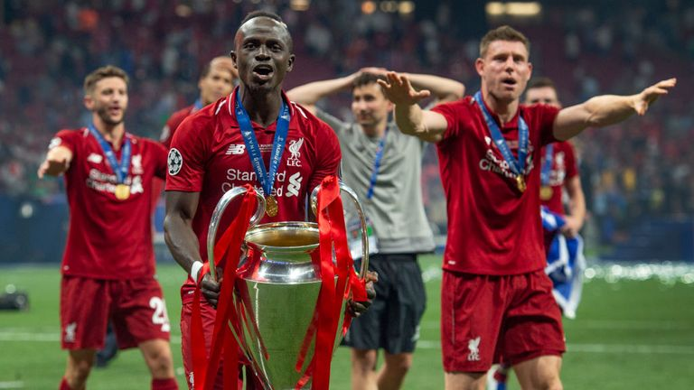 Sadio Mane helped Liverpool to a sixth European Cup in June