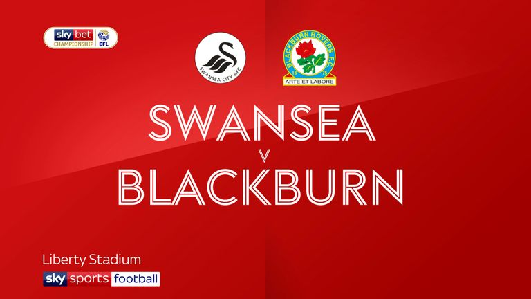 Highlights of the Sky Bet Championship match between Swansea and Blackburn
