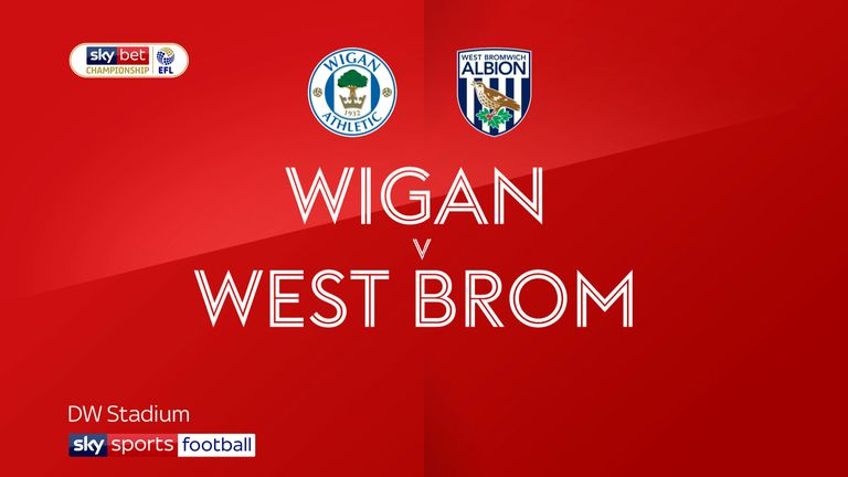 Highlights of the Sky Bet Championship match between Wigan and West Brom.