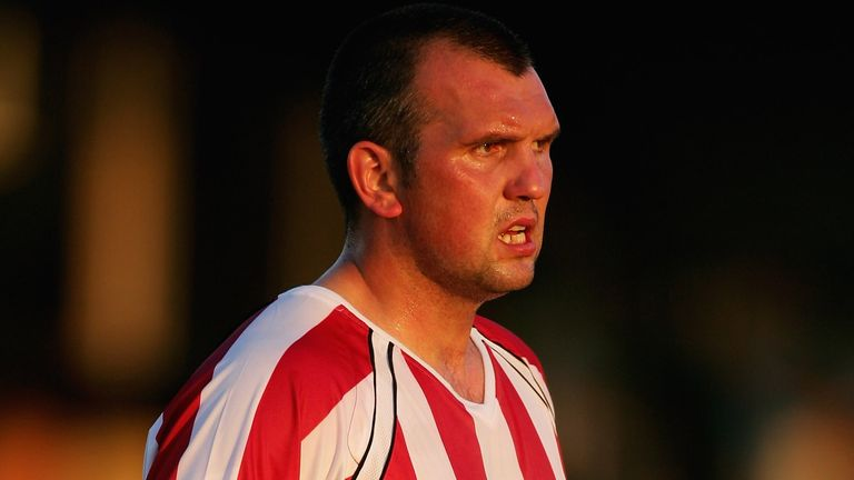 Neil Shipperley, pictured playing for Sheffield United in 2006