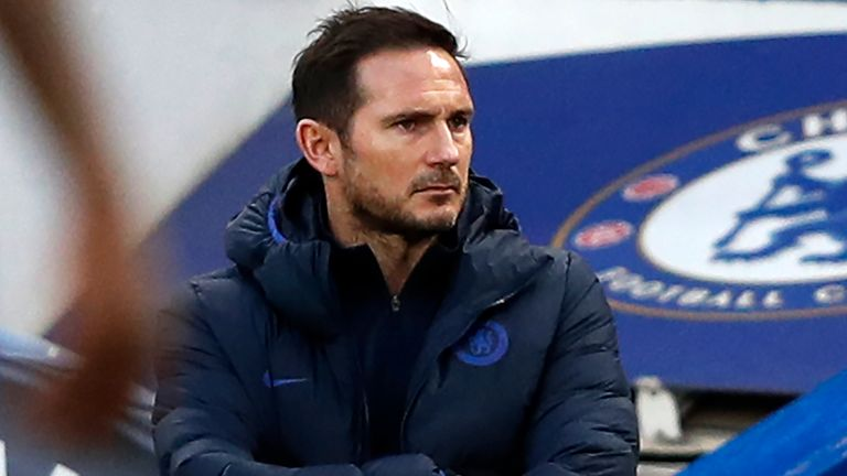 Frank Lampard was disappointed by his side's performance