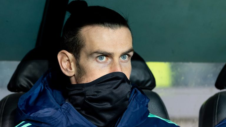 Gareth Bale was an unused substitute as Real Madrid beat Club Brugge on Wednesday