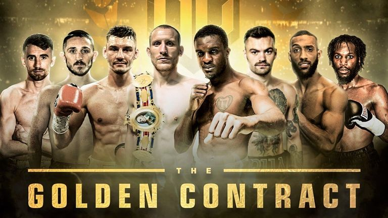 The Golden Contract returns to York Hall, Bethal Green on February 21