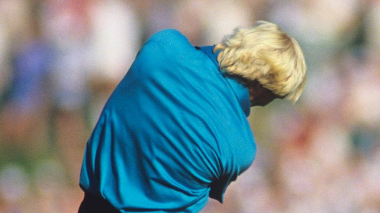 Greg Norman posted a five-over 75 on the final day