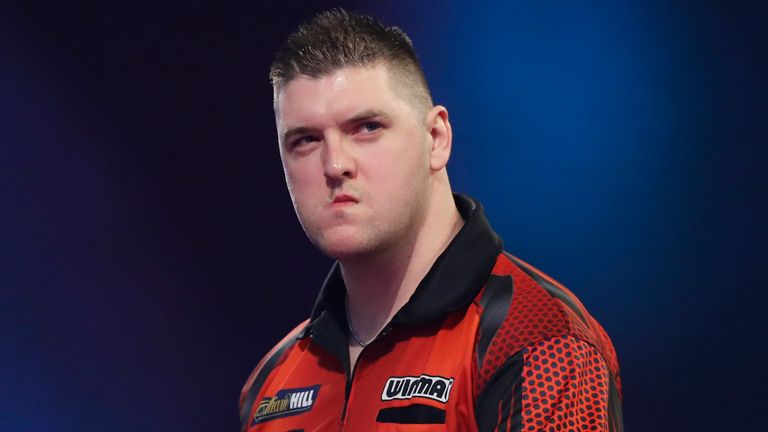 Daryl Gurney defeated Van Gerwen twice in last year's league phase