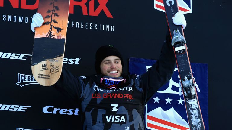 Kenworthy is also a five-time medal winner at the X Games
