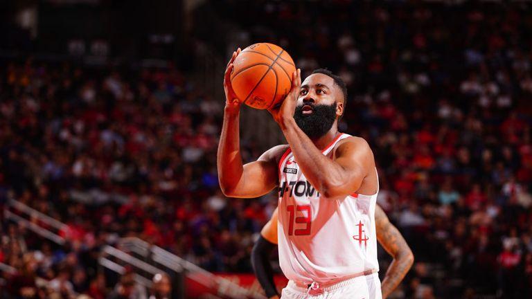 James Harden scores 60 points in Houston Rockets win
