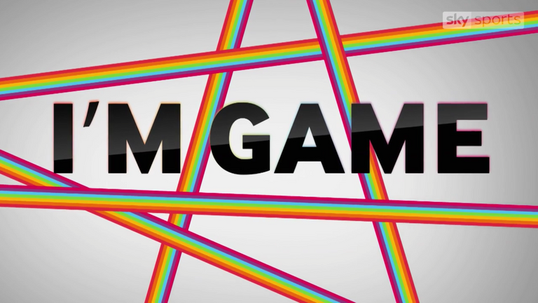 Sky Sports is bringing you a new series called 'I'm Game' in support of Stonewall's Rainbow Laces campaign.
