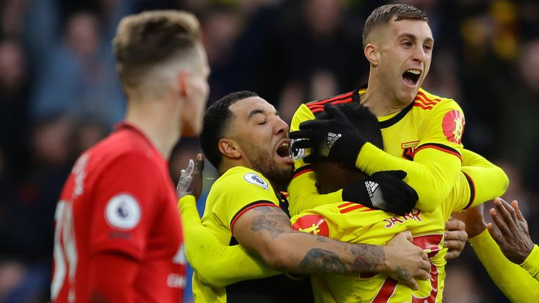 Watford have beaten both Manchester United and Liverpool at home in the Premier League this season
