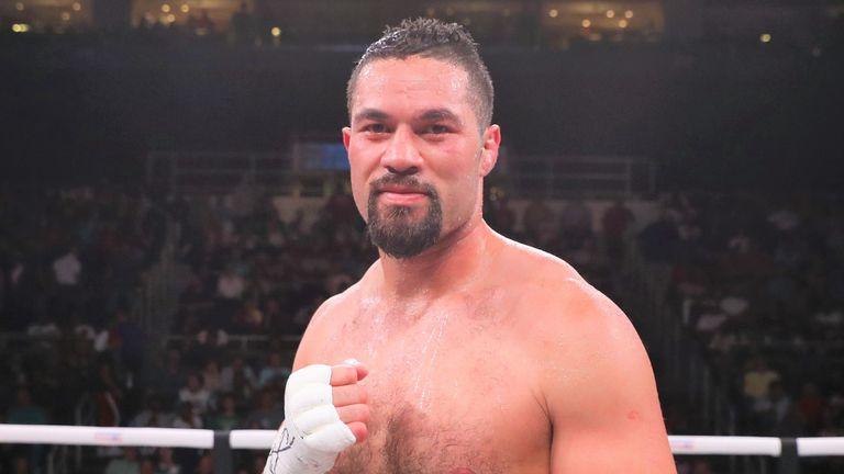 Joseph Parker is targeting a WBO title fight against Oleksandr Usyk