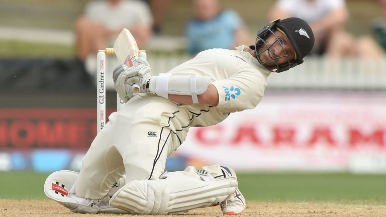 New Zealand captain Kane Williamson is 37 not out overnight