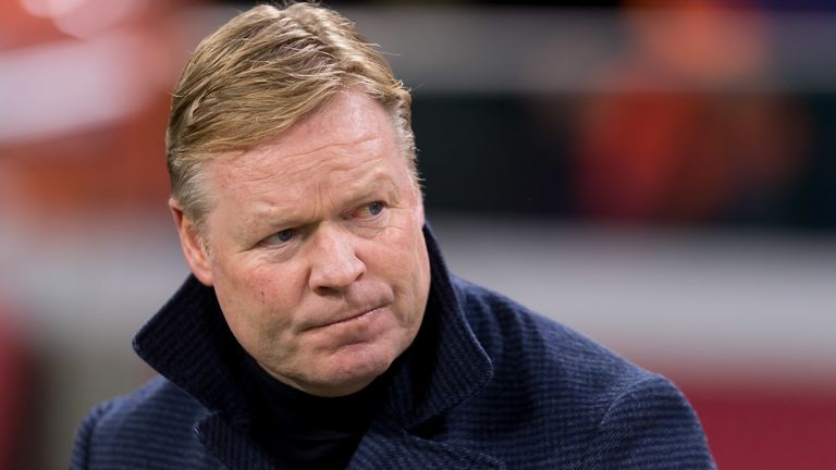 Netherlands coach Ronald Koeman said he did not have a very festive Sunday