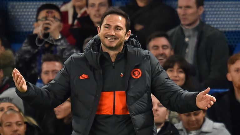 Frank Lampard will be able to sign players for Chelsea in January