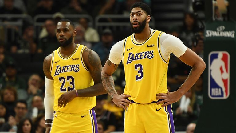 LeBron James and Anthony Davis questionable for Christmas ...