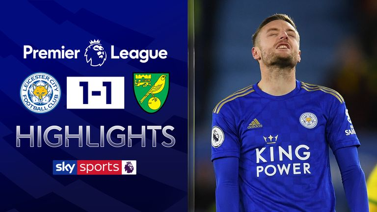 Norwich hold Leicester