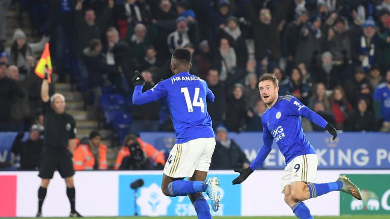Iheanacho's late goal was upheld by VAR despite the Leicester player being flagged for offside