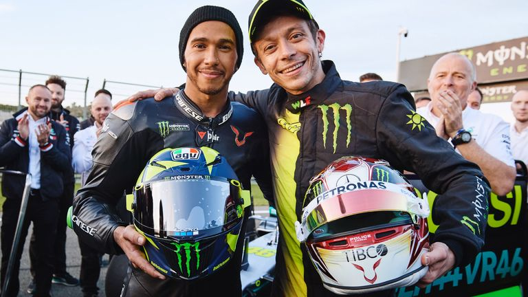 Valentino Rossi on F1 experience: