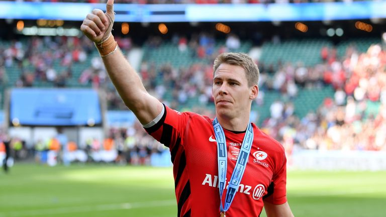 Liam Williams helped Saracens win the Heineken Champions Cup and Gallagher Premiership title last term