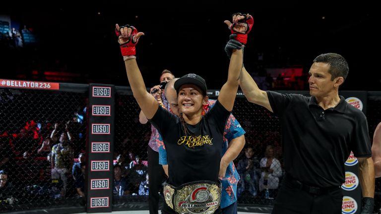 flyweight champion Ilima-Lei Macfarlane