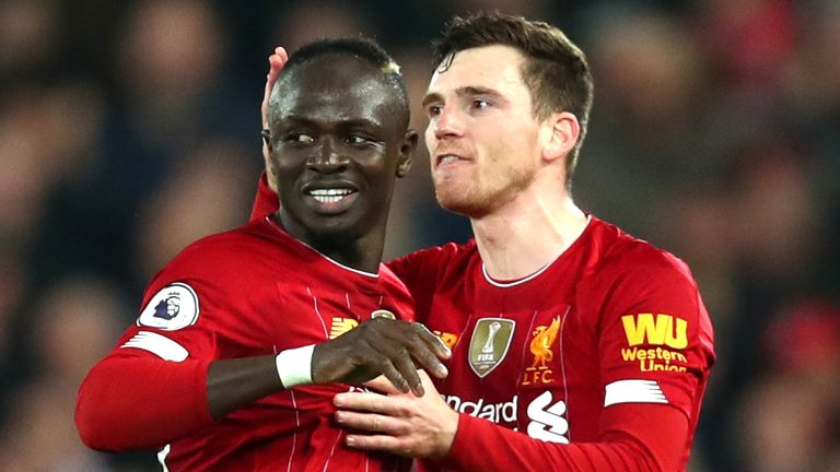 Sadio Mane has scored 14 Premier League goals for Liverpool this season