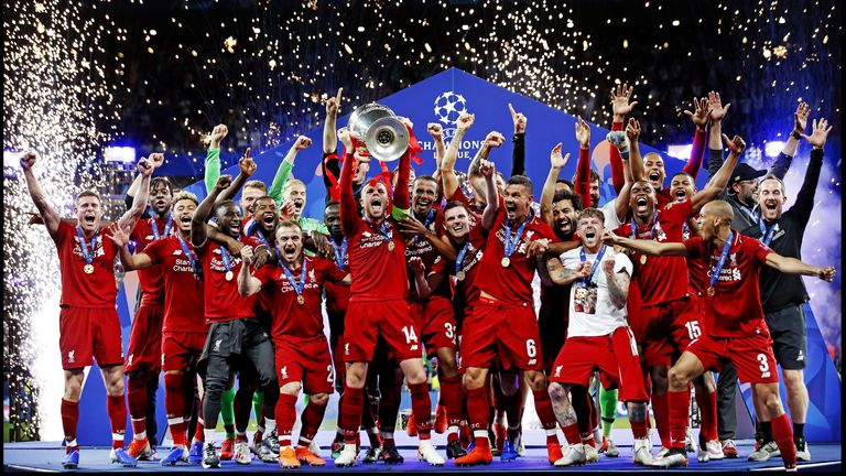 Liverpool won the Champions League at the Estadio Metropolitano, beating Tottenham 2-0