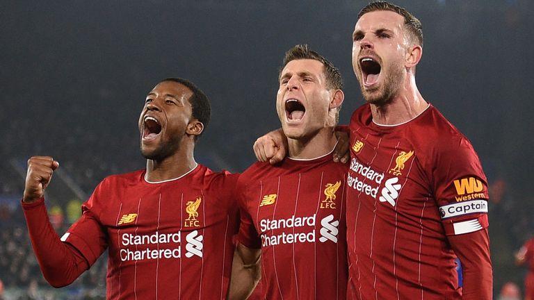 Klopp believes Gini Wijnaldum, James Milner and Jordan Henderson could be future captains