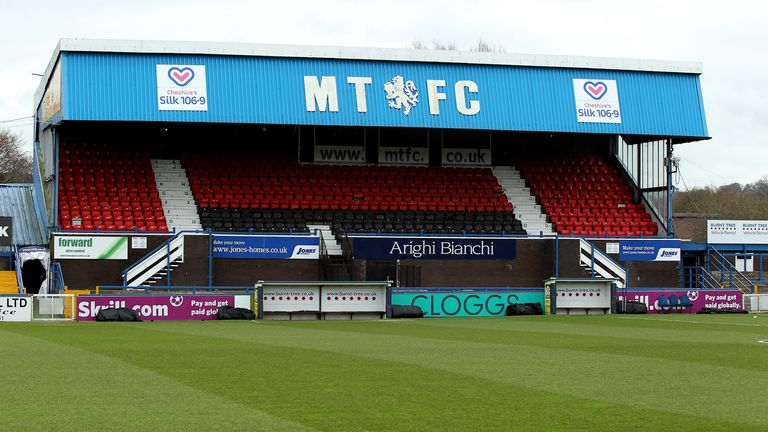 Macclesfield Town have already had games against Crewe and Plymouth postponed this month
