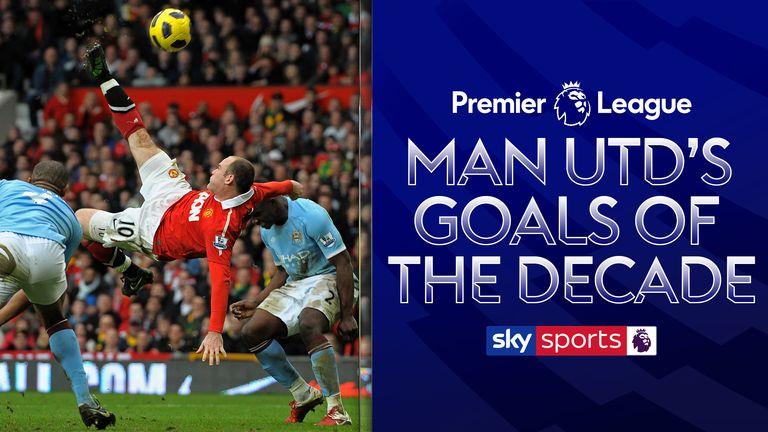 Man Utd goals of decade