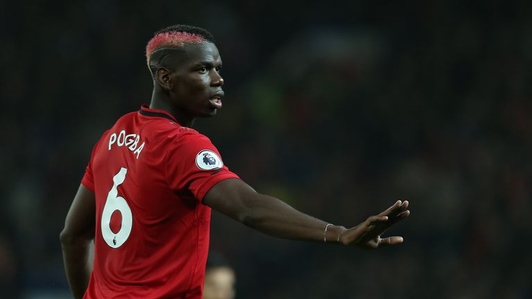 Paul Pogba has been out of the Manchester United squad due to an ankle problem