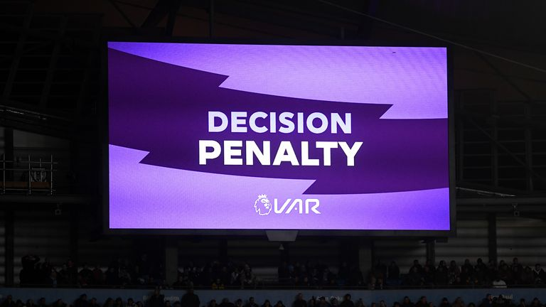 Manchester United were awarded a penalty by VAR on Saturday but they remain one of two clubs without a giant screen in their stadium