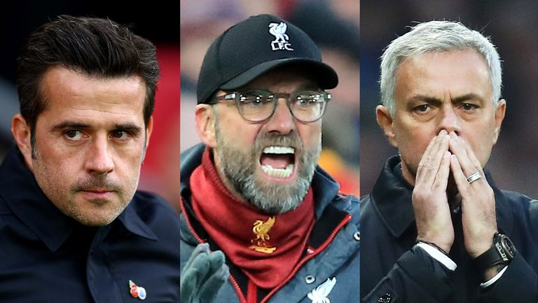Will Marco Silva, Jurgen Klopp or Jose Mourinho be celebrating on Wednesday night?